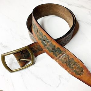 Leather Leegin vintage belt